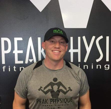 Nick Pietrykowski Peak Physique Owner