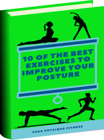 eBook Book Cover 10 of the best exercises to improve your posture