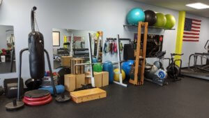personal training studio example