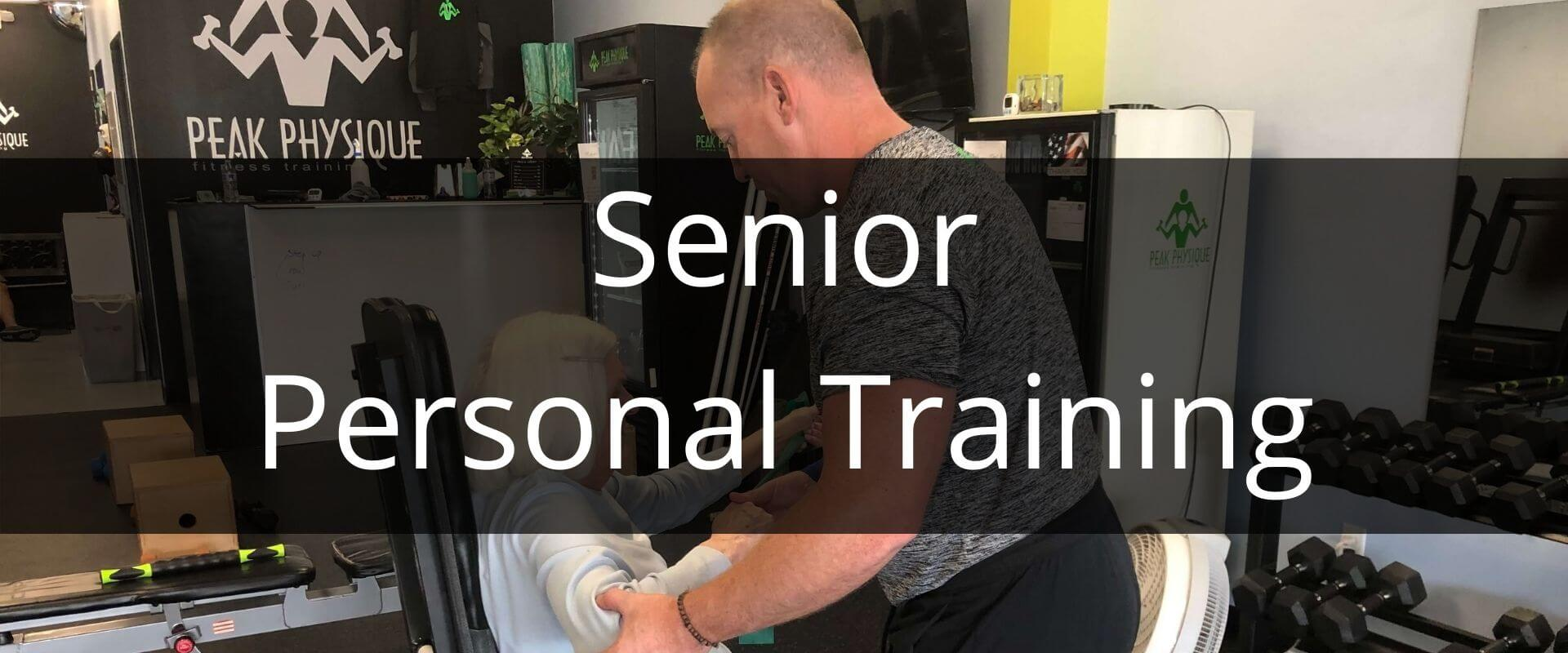 Senior Personal Training Thumbnail